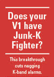 Does your V1 have Junk-K Fighter?